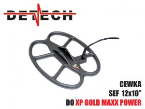 Cewka Detech SEF 10x12'' do: Gold Maxx Power